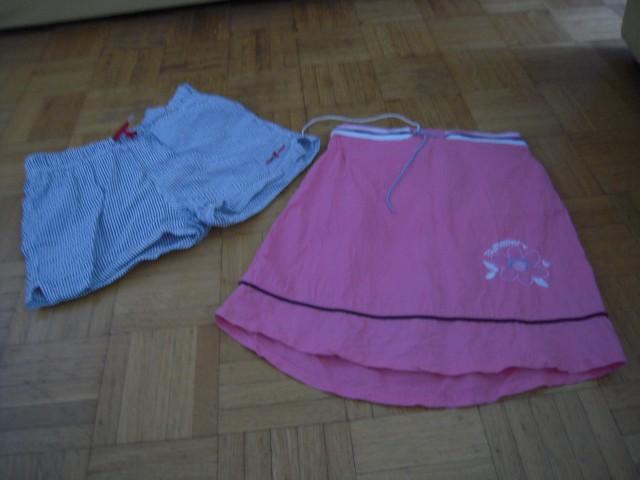 Dekliška oblačila letna, kratka 134-140 1. - foto