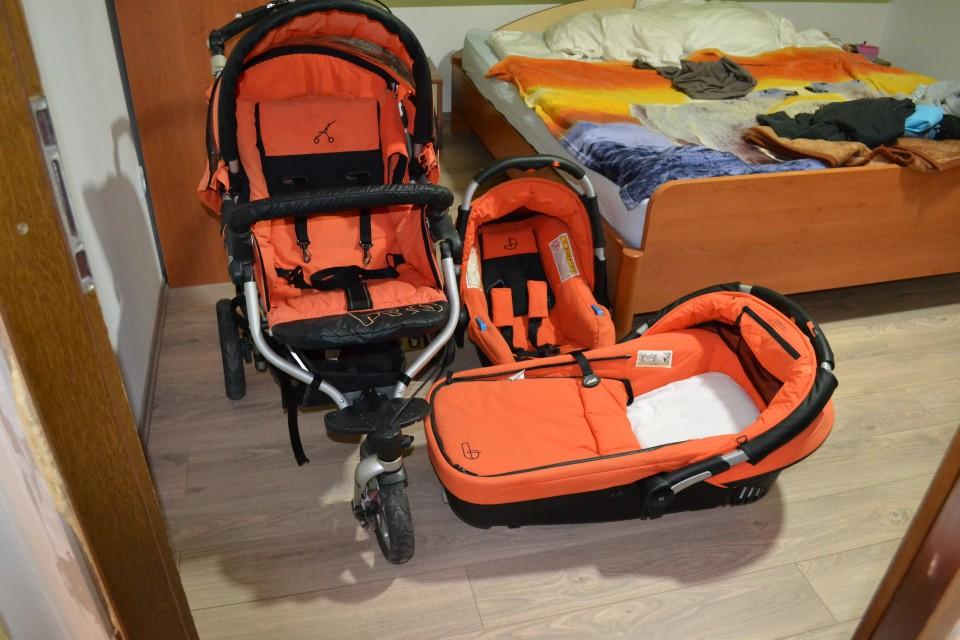 voziček jane slalom pro