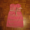Roza obleka 36 7€