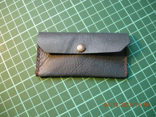 Nova 100 % usnjena denarnica, kvalitetno usnje 5 €ur, ročno delo
