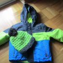 Otroška bunda in topla kapa Lupilu (Lidl)