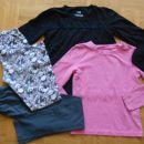 MANA legice + sive DOPODOPO legice + CHEROKEE roza majica + YES majica (vel. 128)