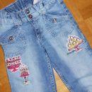H&M jeans hlače, debelejši jeans (122)