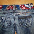 desigual jeans hlače, vel.36, cena 50€