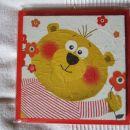 47 - slika servetna tehnika - 17 x 17 cm - 5 €