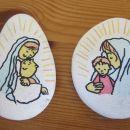 MARIJA Z JEZUSOM NA KAMNU