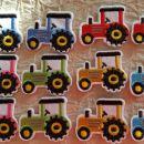 našitki traktor - 10,80 komplet
