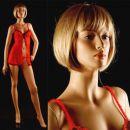Izložbena lutka + 2 lasulji (160 €)