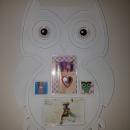 Okvir za slike z motivom sovice, cena: 5 €
