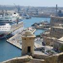 Valletta - pogled z botanicnega parka