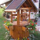 vodnjak z deževnico, ki je zlata vreden za moje rožice
