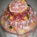 torta iz klobas,... za tiste, ki so na ločevalni dieti