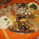 plošča morskih jedi