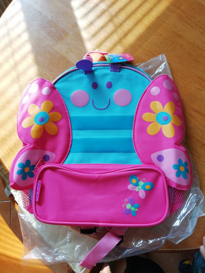 Nov nahrbtnik - foto povečava