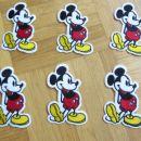 našitki mickey mouse