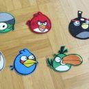 našitki angry birds