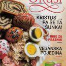 Revija / priloga Velikonočni Okus, recepti, kulinarika, kuhanje