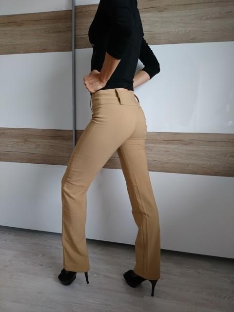 Ženske elegantne hlače XS, odlično ohranjene, lepo padajoče, 5 eur