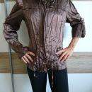 Modna ženska jakna, mečkanka, S, 5 eur