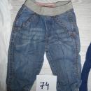 Otroške hlače 74 Mana baby, kavbojke, jeans, 4 eur