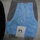 Otroške hlače 74, BC baby, pliš toplejše 3,5 eur