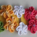 kvačkane špangice Kazashi rože