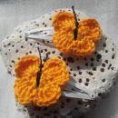 kvačkane špangice metuljčki