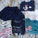 Oblačila za deklico od 62 do 104