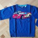 Majčka, pulover Cars, št. 110,  5-6 let