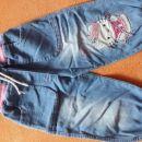 Jeans hlače št. 86-92 - 2,50 eur