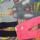 Kavbojke ( jeans) št. 98-104 - 2 eur/kom