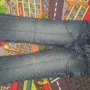 Jeans hlače H&M št. 134 - 5€