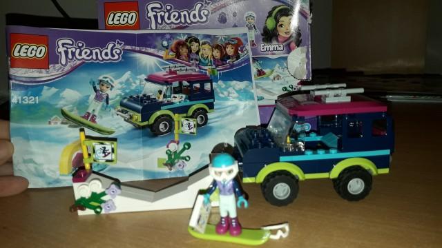 Lego friends - mozne menjave - foto