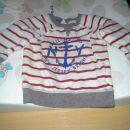 2x pulover H&M, velikost 74 in 80. Cena 5 eur+ptt za kos