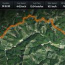 peš v Podlehnik, del 1. etape