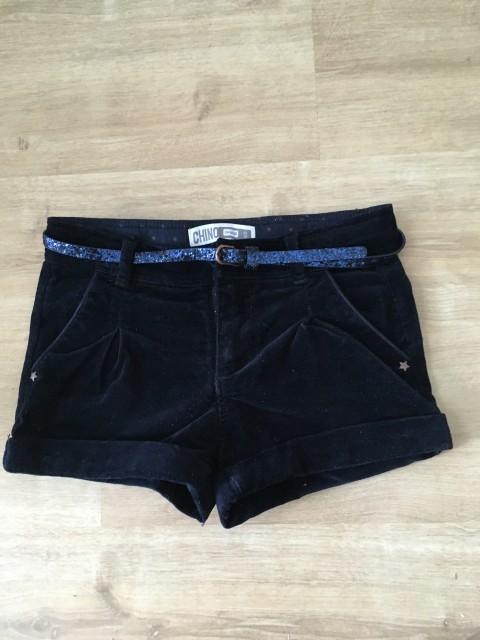 Okaidi kratke žametne hlače 5A-110