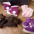 Topli škornji za punčko 0-12 mesecev