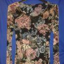 prosojna rožčasta majica, s, 5 eur