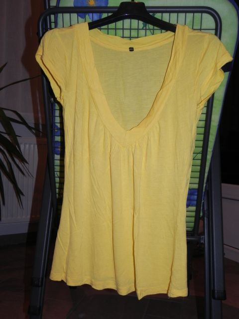Rumena majica/tunika m