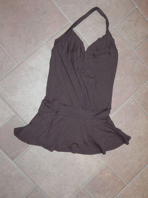 Tunika temno rjava s/m