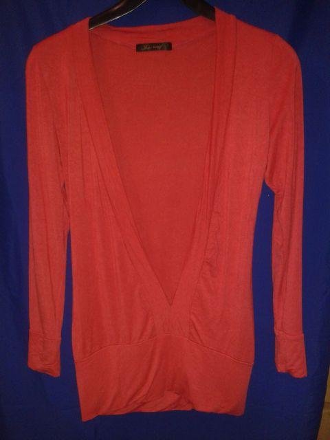 Marelična majica (med rdečo in oranžno) m/l