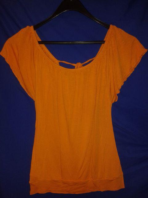 Oranžna majica s/m