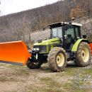 Traktor pripravljen na zimo