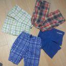 4 x kratke hlače hm, nkd, takko, ff 122