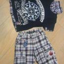 komplet majčka in kratke hlače, vel. 116