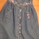 jeans oblekica Palomino 110 (lahko komot 116)