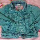 Jeans jakna e-vie angel 2-3 leta