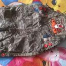 george disney hlače na naramnice - tiger