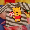 H&M disney majica medvedek pu