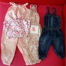 Komplet hlačk z naramnicami št. 86, cena 5 €.